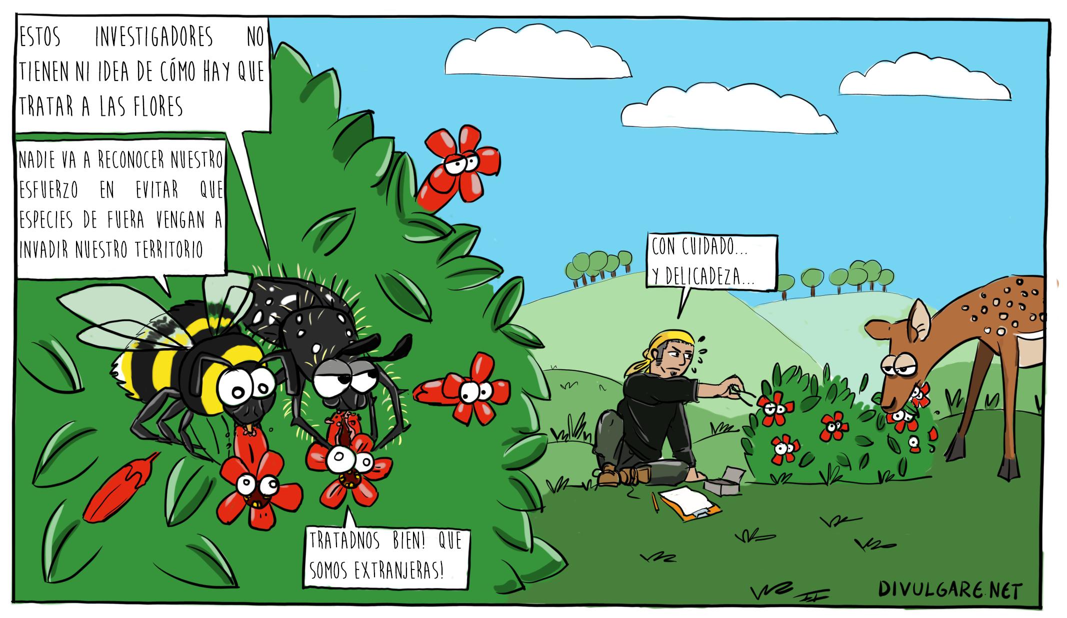 Los herbívoros florales
